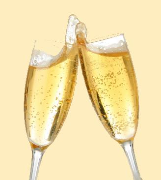 champagne toast