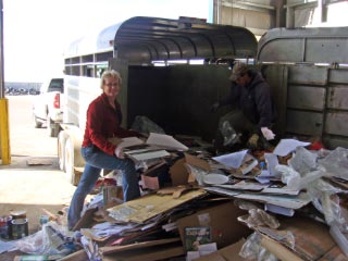 Recycling to County Transfer Station