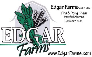 Edgar Farms Logo & Name