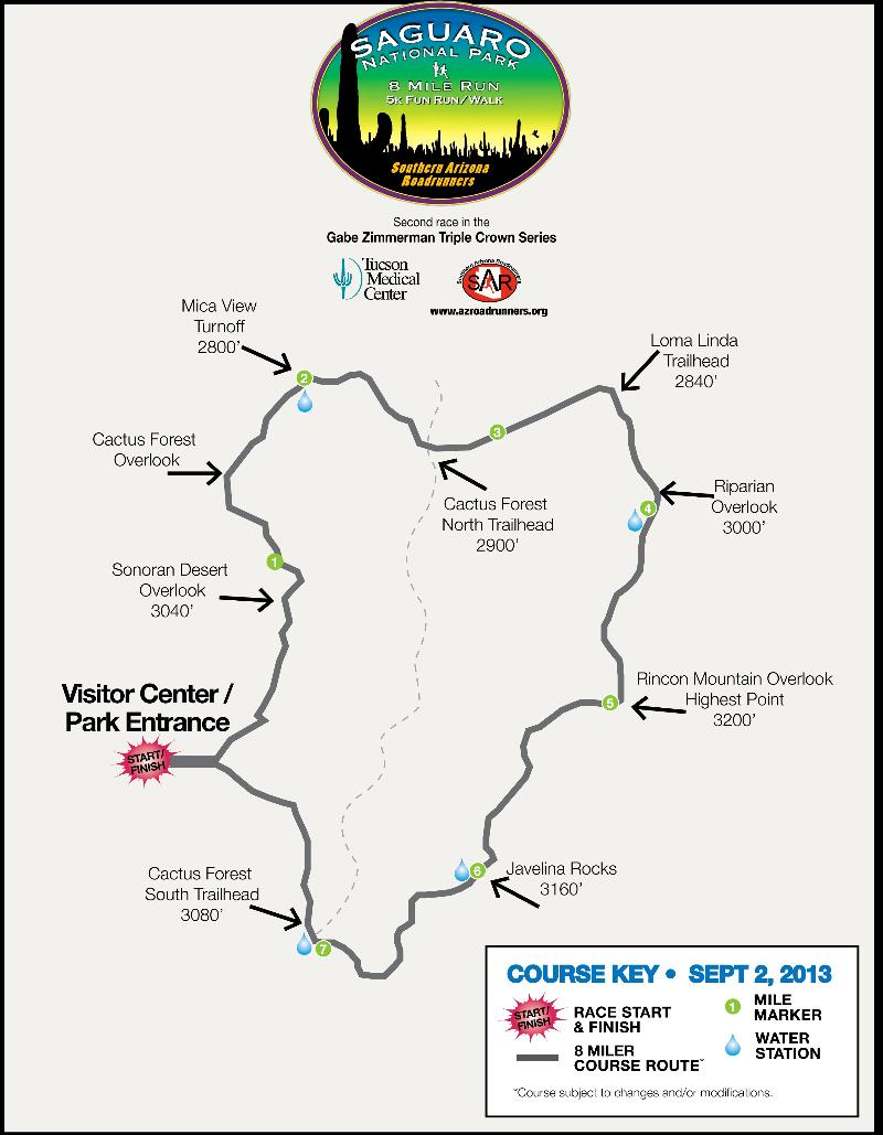229 spots open for September 2nd TMC Saguaro National Park Labor Day
