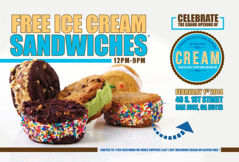 Cream Opens in Downtown San Jose