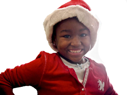Young Holiday Helper