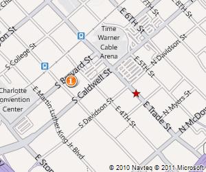 Map for Grace on Brevard