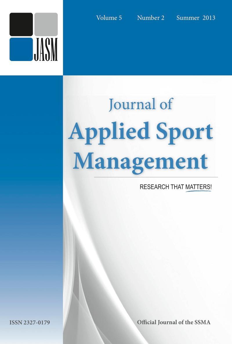 JASM v5n2 Cover