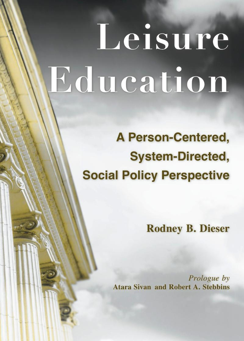 Leisure Education Cover