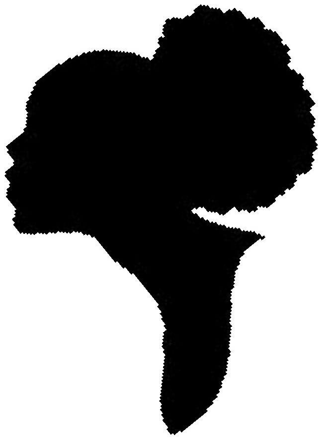 The Gallery For Gt Black Afro Silhouette