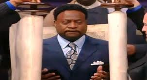 Eddie Long Torah Scroll