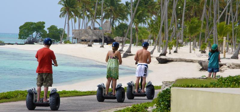 Segway tour at Punta Cana