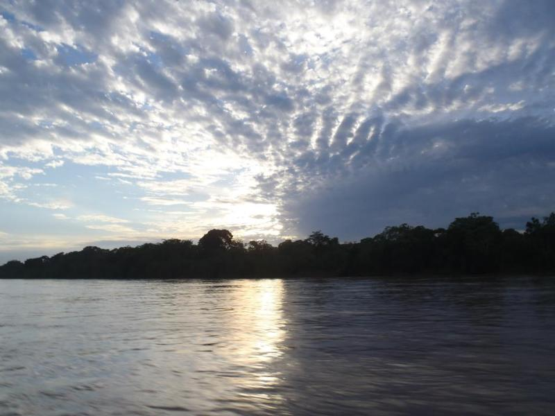 Amazon sunrise