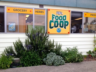 Co-op with New Sign