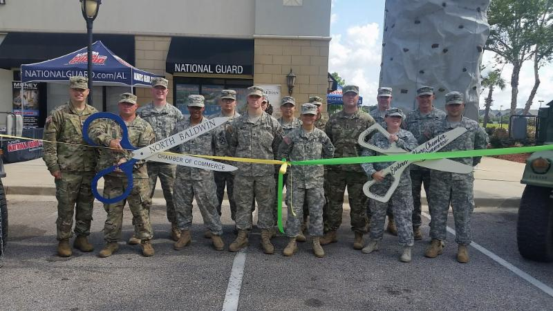 Army Nat. Guard Ribbon Cutting