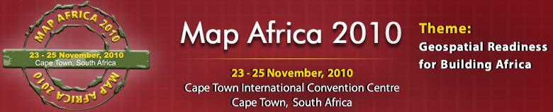 Map Africa 2010 Logo