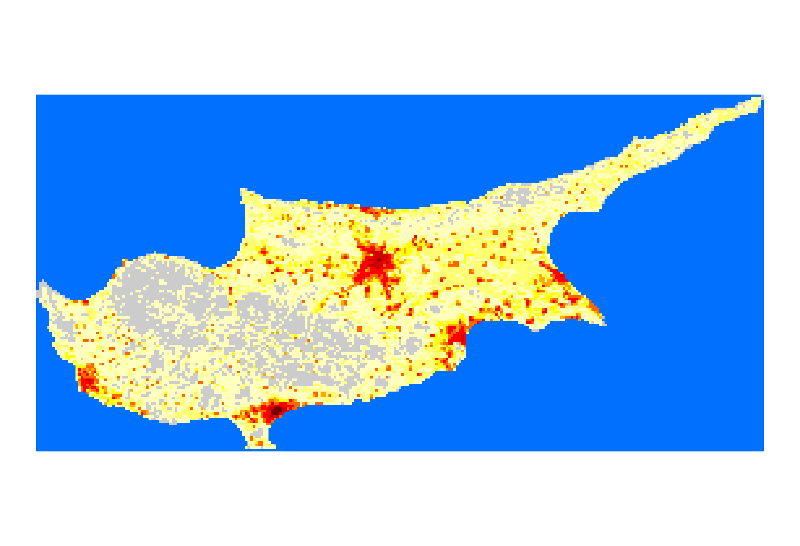 LandScan - Cyprus