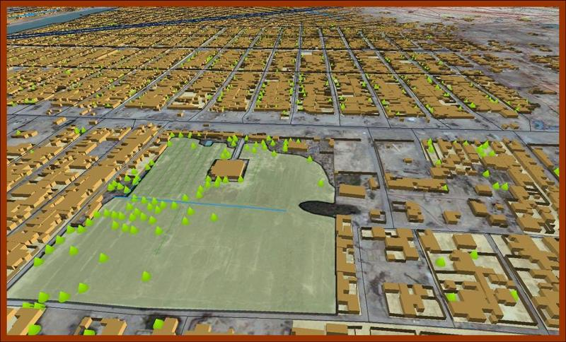 Baghdad 2.5D City Model