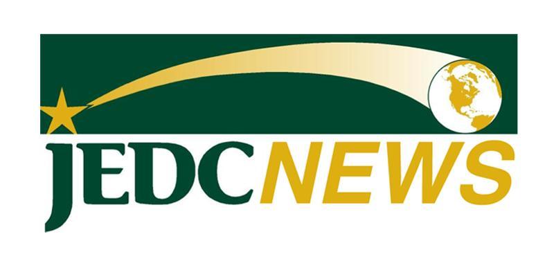 JEDC NEWS logo