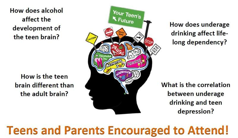 Alcohol and the brain to teens