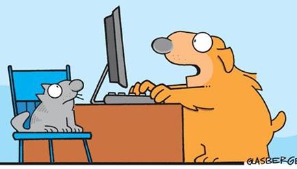 Cartoon Internet