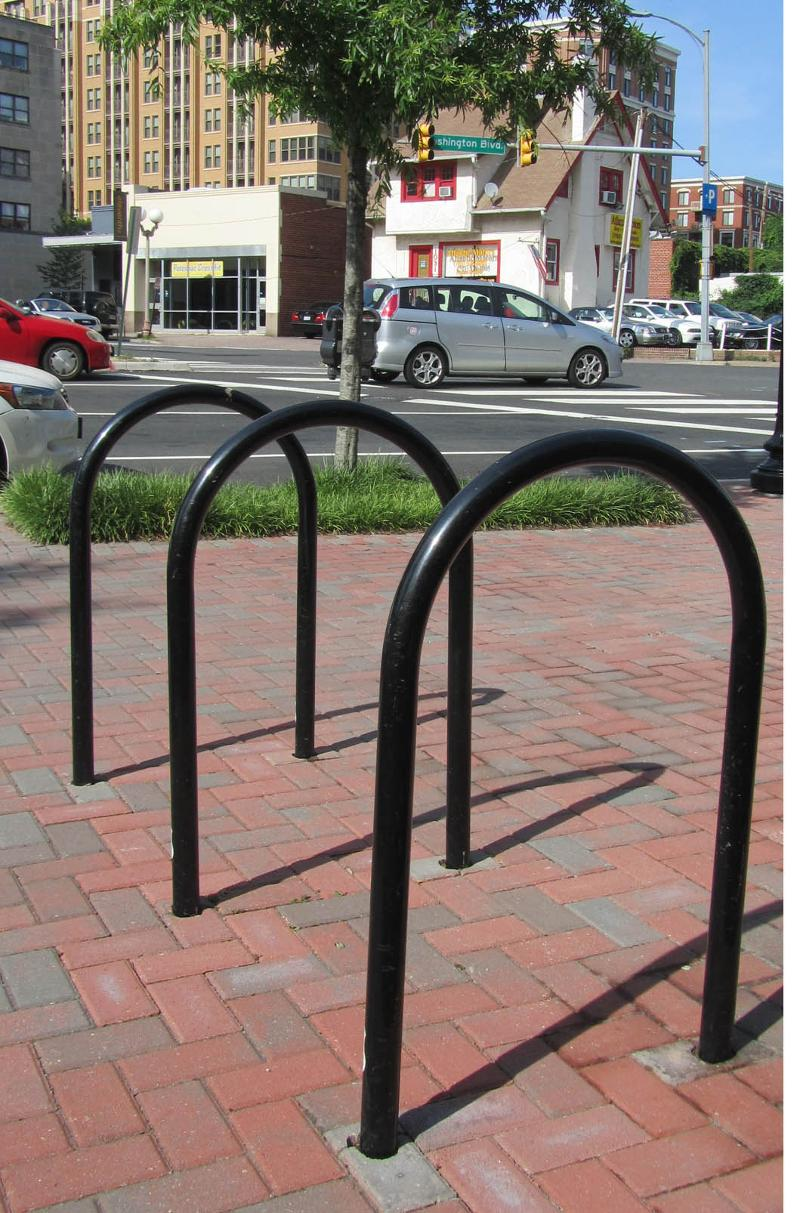 bike rack photo