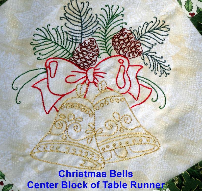 Bells for Table Runner Center