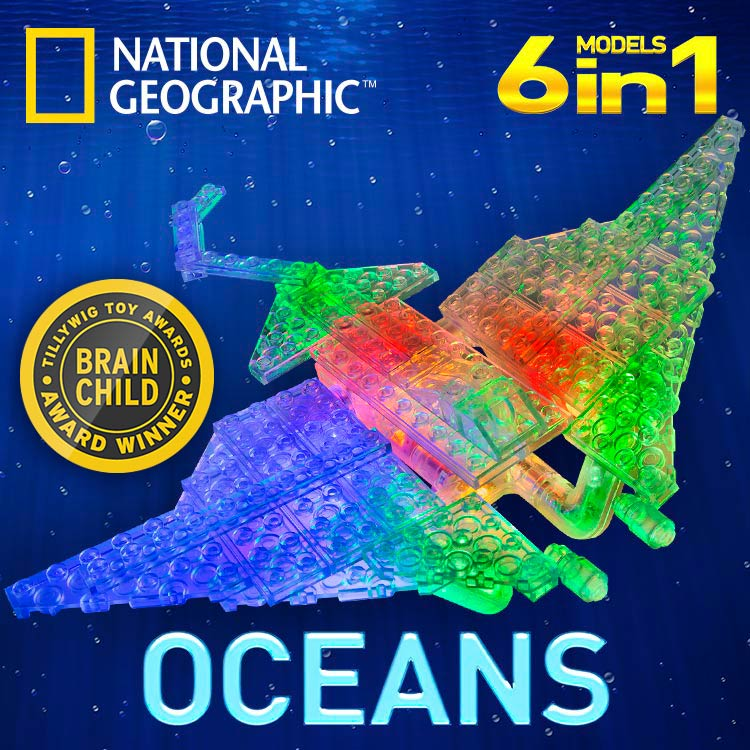 National Geographic Laser Pegs