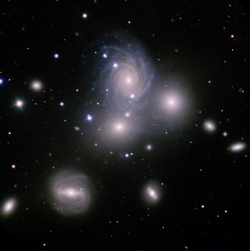 Galaxy Group VV 166