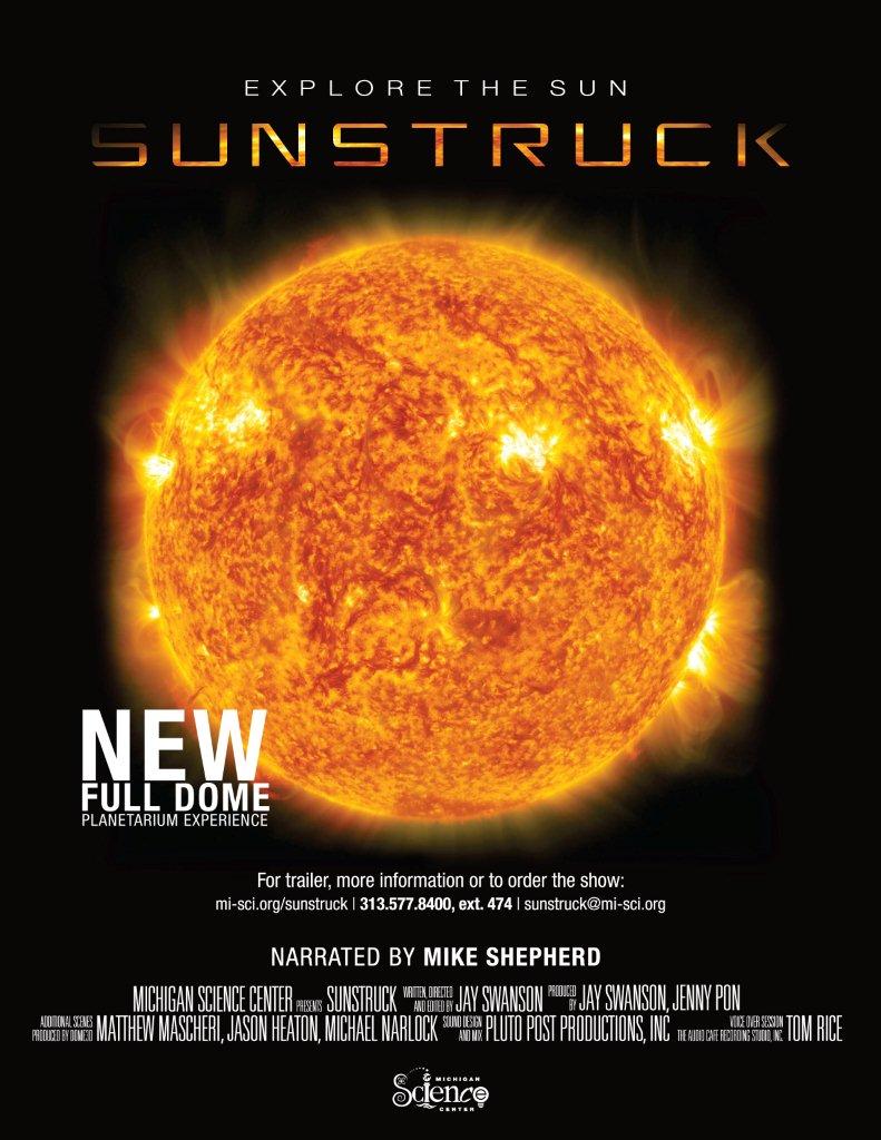 SUNSTRUCK poster