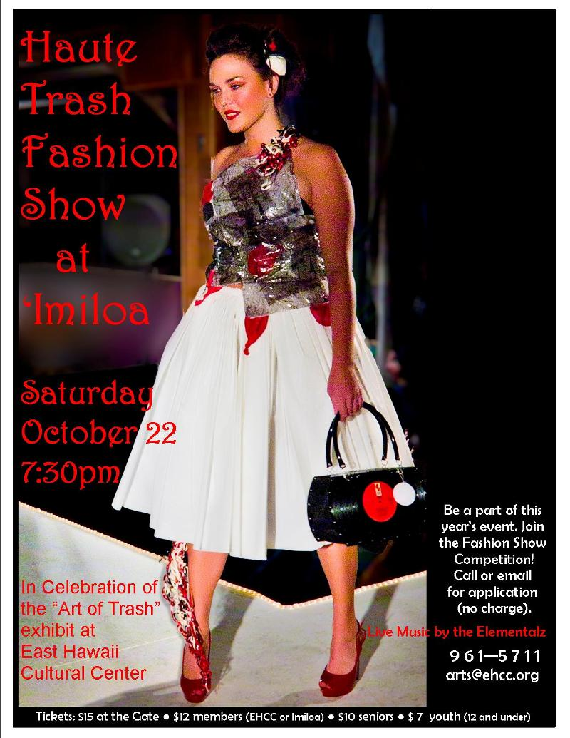2011 Oct. Trash Fashion poster