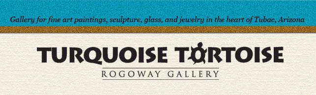 Rogoway Turquoise Tortoise Logo