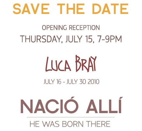 Luca Bray- Nacio Alli