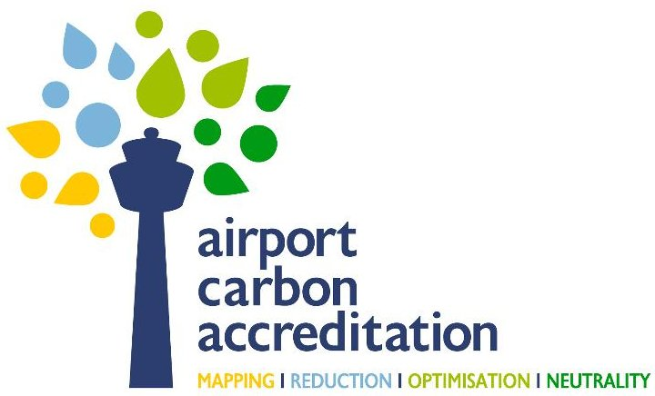 Airport Carbon Accreditation logo