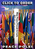 Peace Pole - May Peace Prevail On Earth
