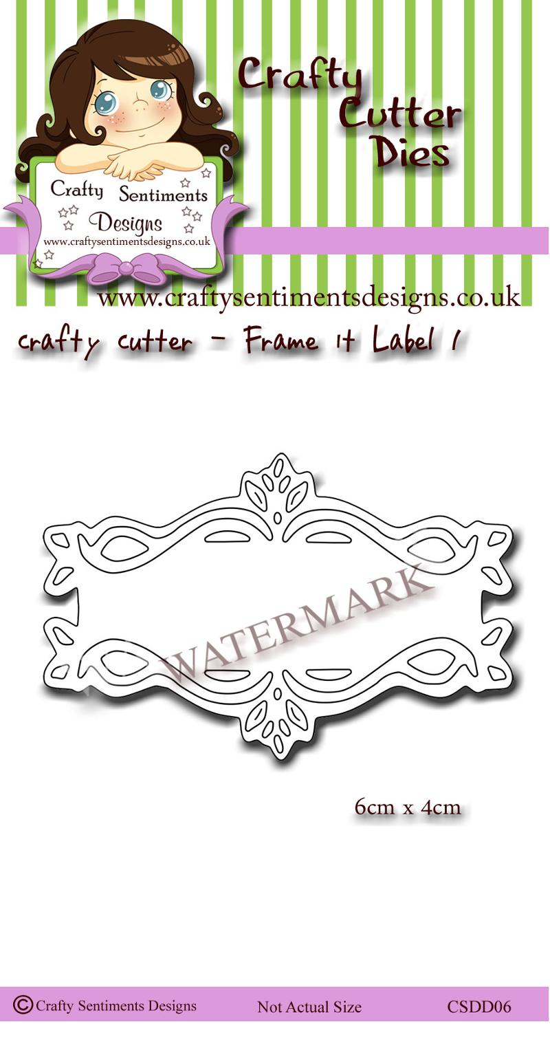 Frame it label 1