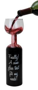 wine bottle-glass