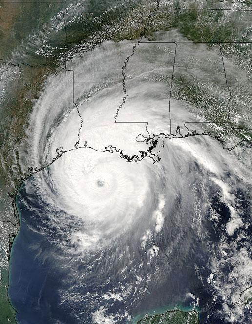 Hurricane Rita by NASA