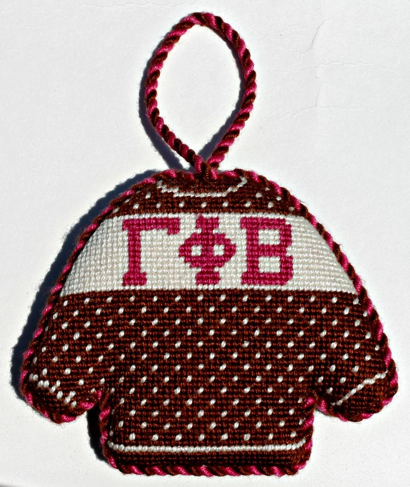 Sorority Sweater Decoration