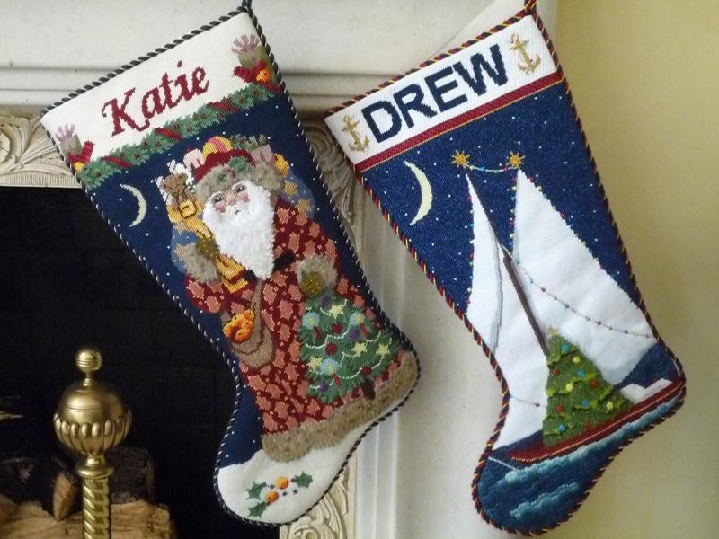 Katie and Drew Holiday Stockings