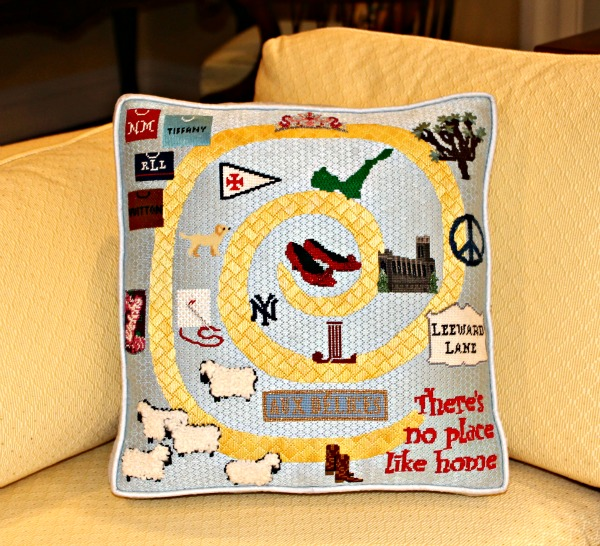 Dorothy's Going Away Pillow
