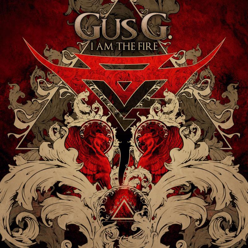 Gus G I Am The Fire album cover