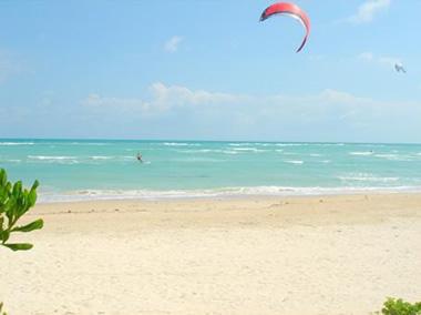 Kitesurfing in Samui