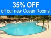 35% OFF our new Ocean Rooms