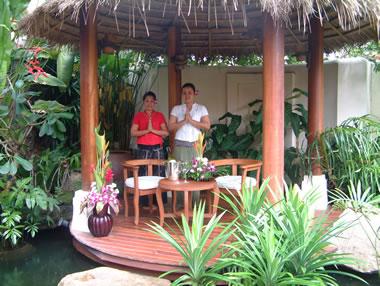 Staff in Sala at Baan Talay