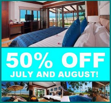 JULY & AUGUST 50% OFF