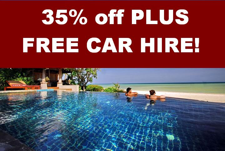 Free car hire in May with all villas