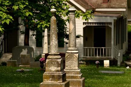 Union Cemetery by Bruce Mathews