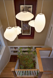 Showhouse stairwell from above