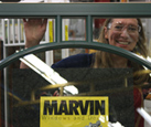Sarah and her Marvin dream window