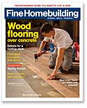 Fine Homebuilding October 2014 issue