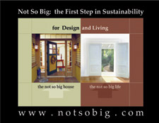 Not So Big: The First Step in Sustainability