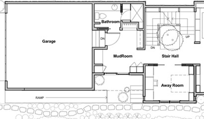 Away Room plans before