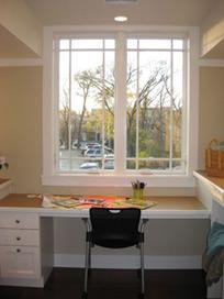 Laundry room window